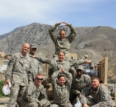 Soldiers in Afghanistan Spell Out OTA
